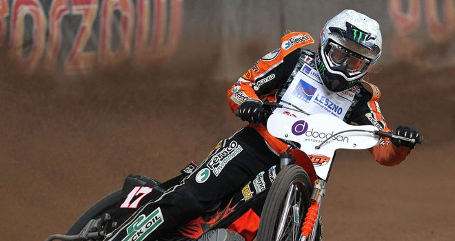 Broken collarbone for Great Britain's World Championship leader Tai Woffinden