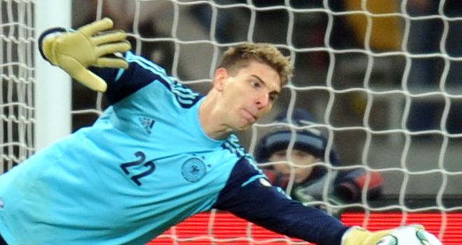 Ron-Robert Zieler: Admits he would like to play football again in England