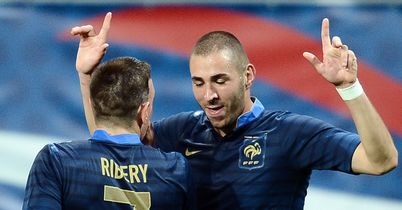 Benzema and France: Fancied at Euro 2012