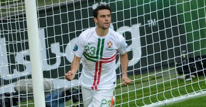 Postiga: Ruled out for Portugal