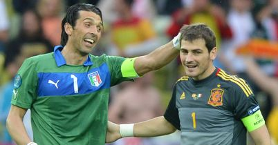 Iker Cassillas: Spain goalkeeper heaps praise on 'role model' Buffon