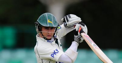 James Taylor: Made 74 to help guide Nottinghamshire to victory