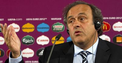 Michel Platini: Has come up with a ridiculous idea