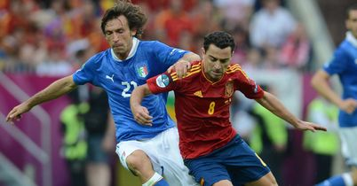 Pirlo and Xavi: Set to go head-to-head