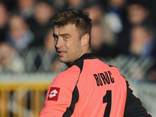 Boruc: Signs for Southampton