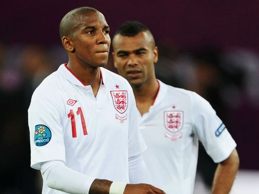 Ashley Young and Ashley Cole: Twitter attacks on duo