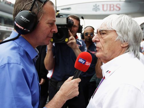 Bernie Ecclestone: Unhappy with Ferrari