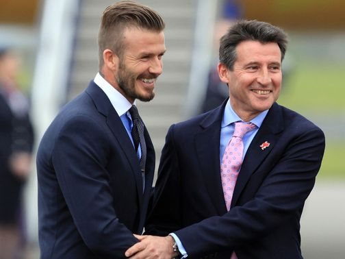 David Beckham: Dual roles at London 2012