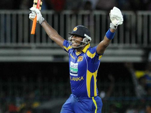 Angelo Mathews: Helped his side claim victory