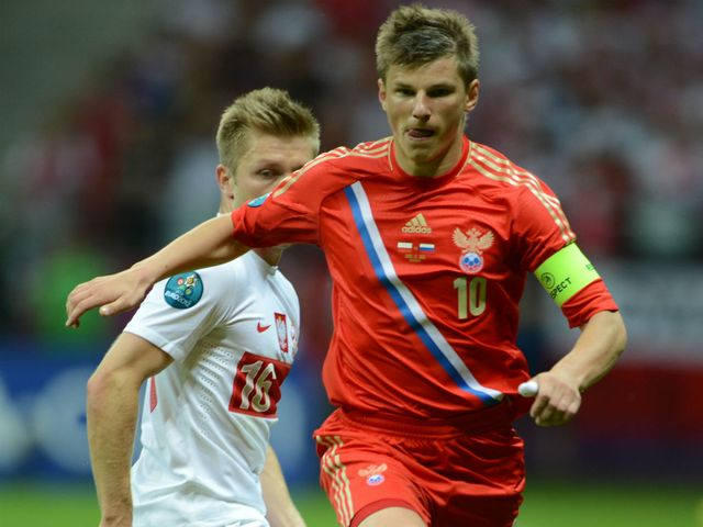 Andrey Arshavin: Unhappy with draw