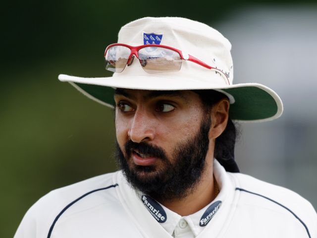 Monty Panesar: Helped Sussex claim victory
