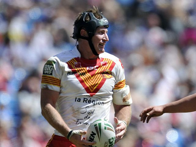 Steve Menzies: Try scorer for Catalans