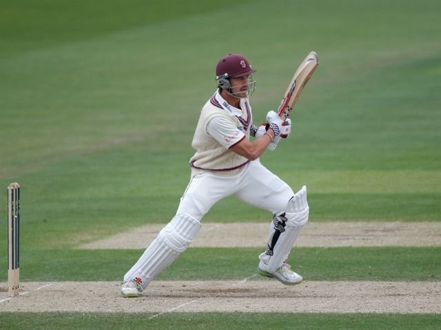 Nick Compton: Helped Somerset secure draw