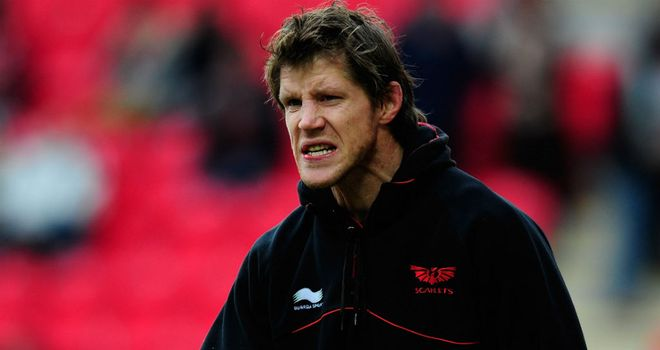 Simon Easterby was unhappy with the Scarlets against Clermont-Auvergne