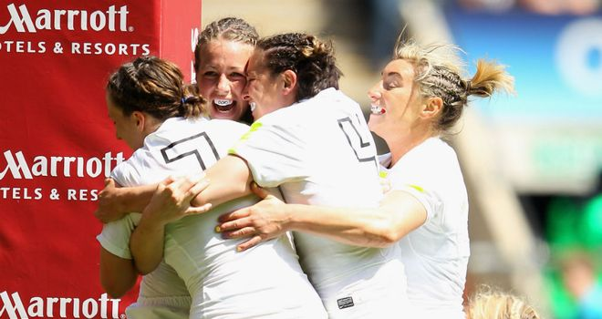 England opened up with four wins in Amsterdam