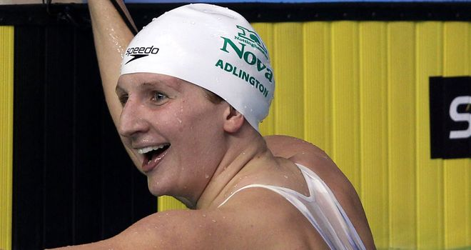 Rebecca Adlington: Benefited from adversity