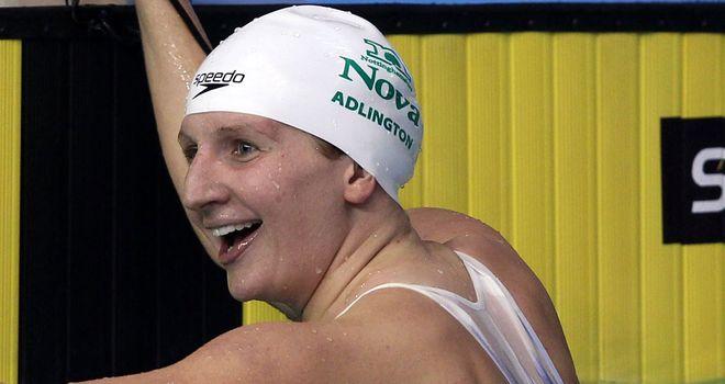 Rebecca Adlington: incredibly fast despite rigorous training schedule