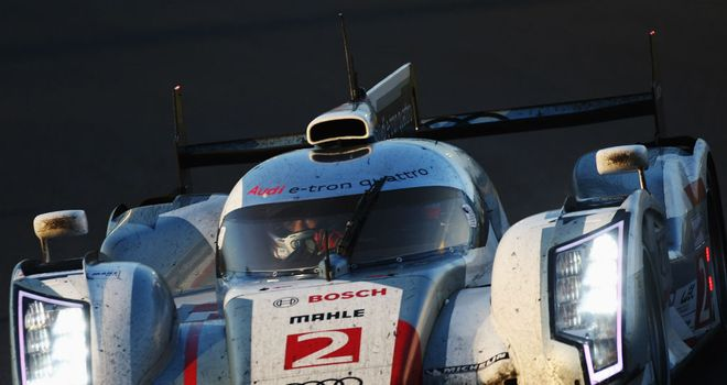 Allan McNish: Played his part as Audi continue to dominate in Le Mans