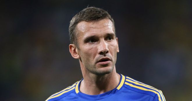 Andriy Shevchenko: Has announced his retirement from football