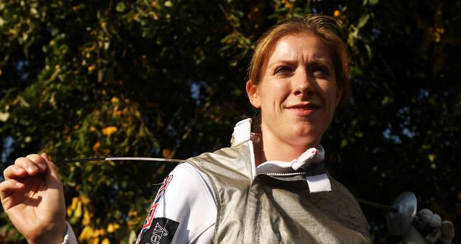 Anna Bentley: The GB fencer is named in 2012 squad