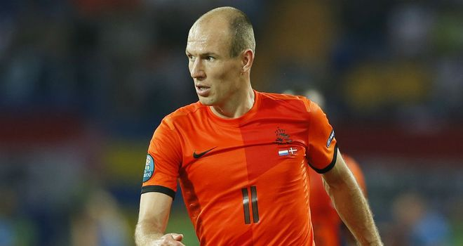 Arjen Robben: Netherlands winger is currently sidelined with an injury