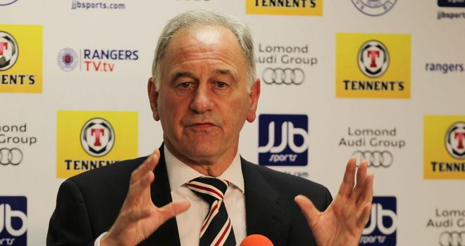 Charles Green: Hoping to work with UEFA on Rangers debts