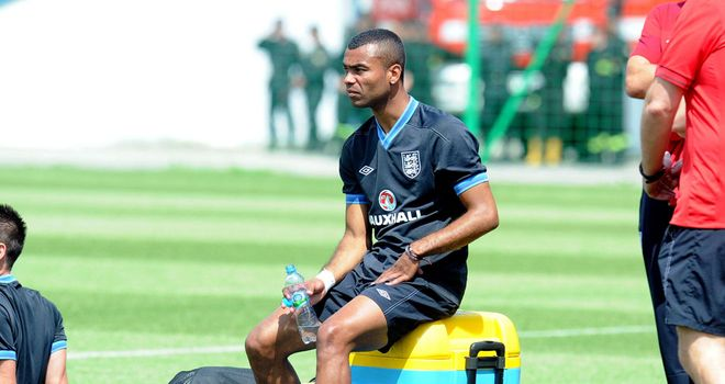Ashley Cole: England left-back a possible doubt ahead of Sweden game