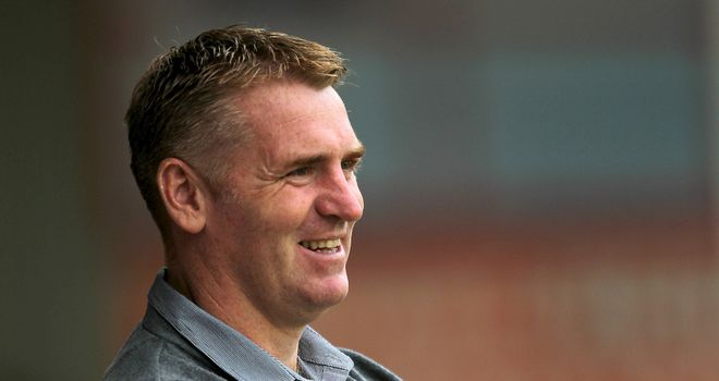 Dean Smith: Has overseen a late play-off charge