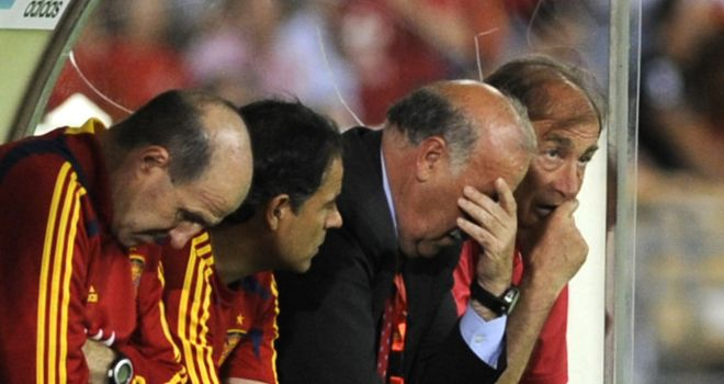 Vicente del Bosque: The Spain boss wary of another defeat to France in their quarter final clash on Saturday