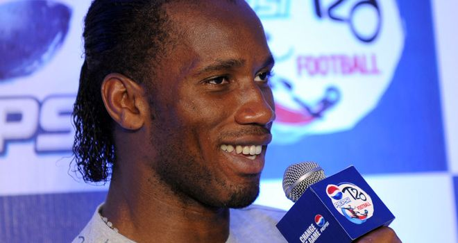 Didier Drogba: Targeting a big impact and an enjoyable experience in Shanghai