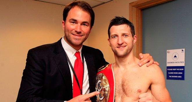 Eddie Hearn: Has warned Carl Froch not to overlook Yusaf Mack