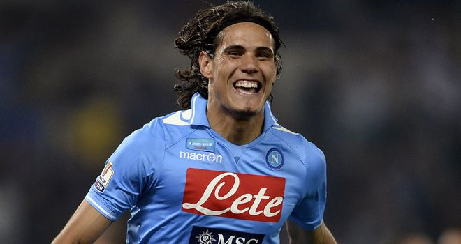 Edison Cavani: Has pledged loyalty to Napoli amid Premier League talk