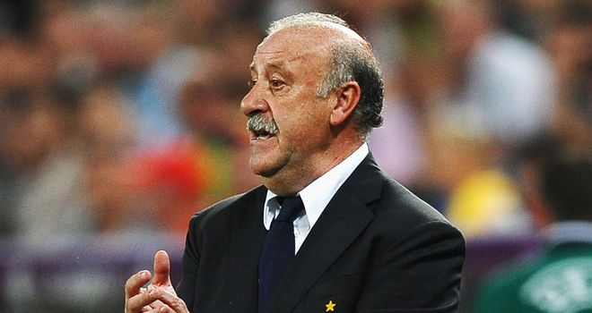 Vicente del Bosque: Will continue to drive Spain forward as they seek even more success