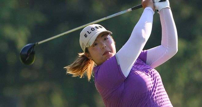 Shanshan Feng: Will take a five-shot lead into the final round in Dubai