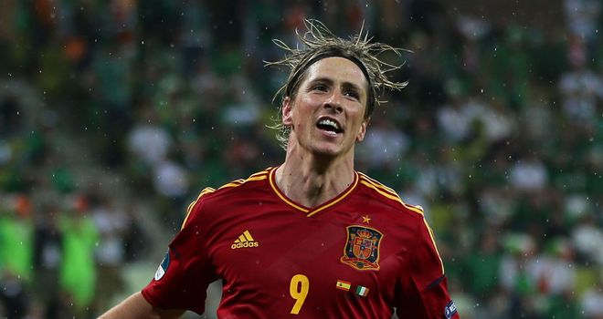 Fernando Torres: Now Spain's equal top scorer at European Championship finals with David Villa on four goals