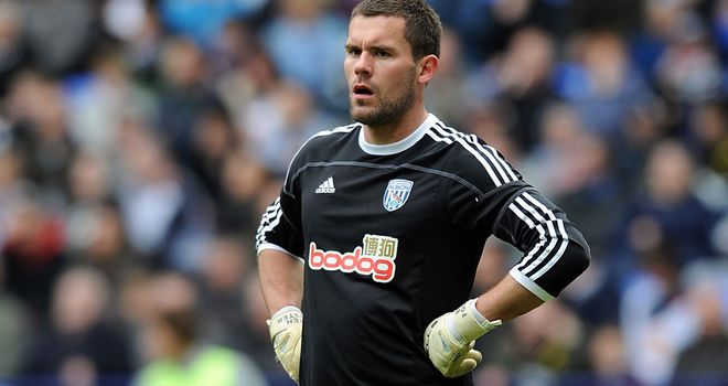 Ben Foster: Has revealed he intends to stay at West Brom for the rest of his career