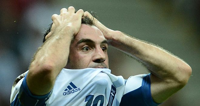 Giorgos Karagounis: On target for Greece