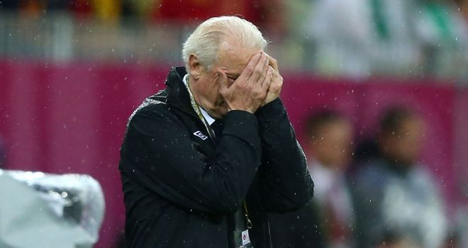 Giovanni Trapattoni: Has called for Ireland to show the right approach against Italy despite elimination