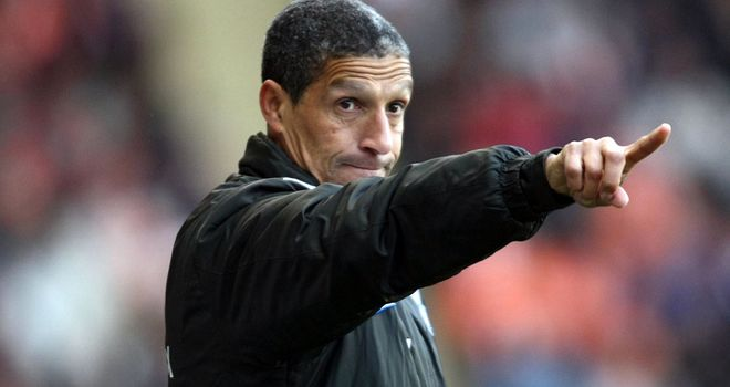 Chris Hughton: Norwich defeated Peterborough thanks to goals from Steve Morison and James Vaughan