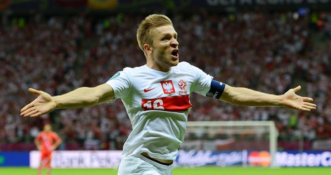 Jakub Blaszczykowski: Opened the scoring for Poland from the penalty spot