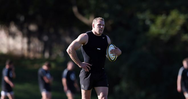 James Haskell: Looking to force his way into the England Test team