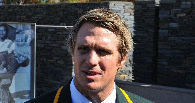 Jean de Villiers: South Africa captain will win his 74th cap at Ellis Park