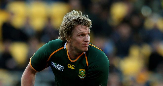 Jean de Villiers: Has been made captain for the three-Test series with England