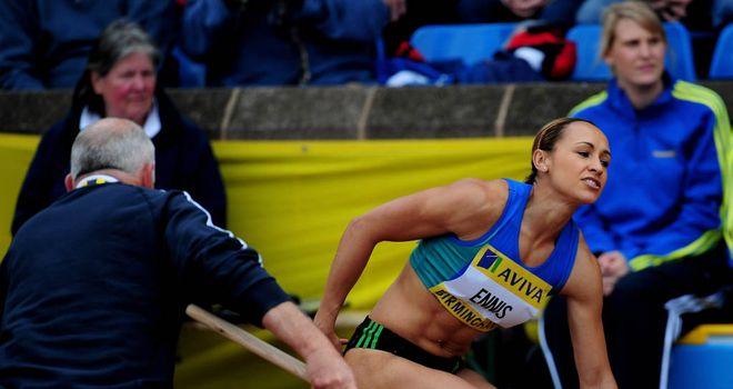 Jessica Ennis: Frustration in Birmingham on Sunday