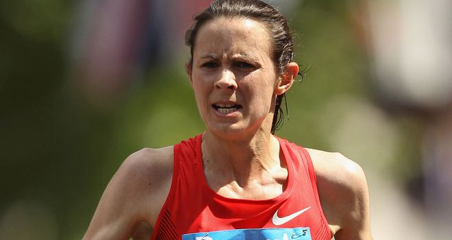 Jo Pavey: Powered to victory in the 10-mile Great South Run in Portsmouth on Sunday