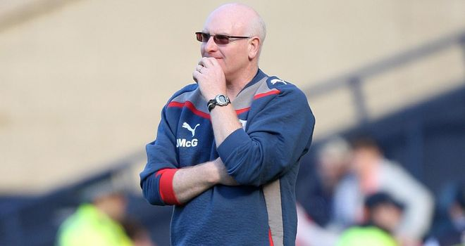 John McGlynn: Raith have given Hearts permission to speak with their manager