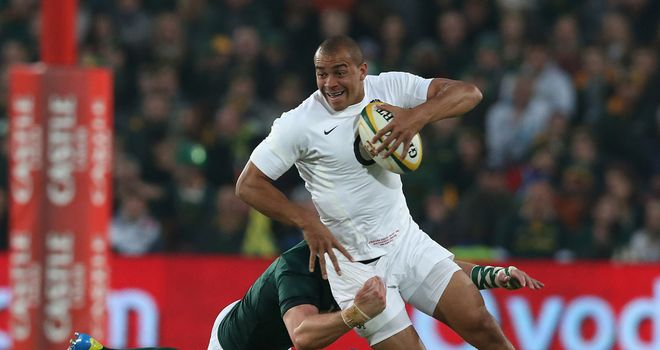 Jonathan Joseph in action against South Africa earlier this year
