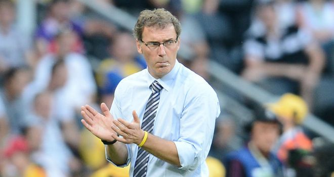Laurent Blanc: Thought the share of the points with England was a fair result