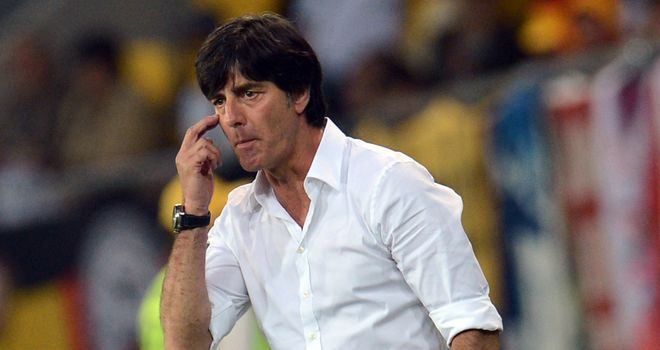 Joachim Low: Has guided his Germany side to the brink of the quarter-finals