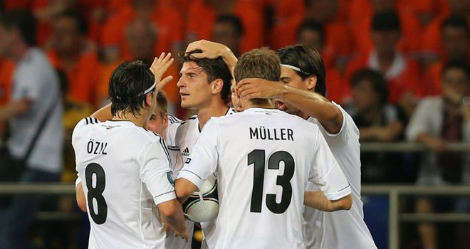 Germany: Mario Gomez's goals have given side 100% record